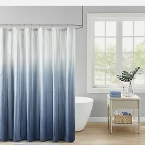 Madison Park Ombre Shower Curtain New! 72x72